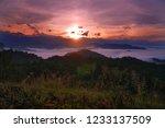 panorama view of beautiful... | Shutterstock . vector #1233137509