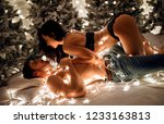 merry christmas and happy new... | Shutterstock . vector #1233163813