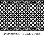 african print fabric  ethnic... | Shutterstock .eps vector #1233172486