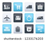 logistics  shipping and... | Shutterstock .eps vector #1233176203