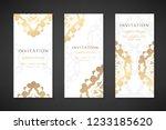 invitation templates. cover...   Shutterstock .eps vector #1233185620