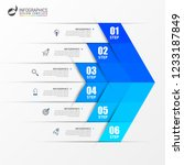 infographic design template....   Shutterstock .eps vector #1233187849