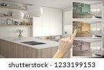 architect designer concept ... | Shutterstock . vector #1233199153