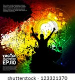 music event vector illustration | Shutterstock .eps vector #123321370
