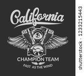 motorcycles club emblem...   Shutterstock .eps vector #1233215443