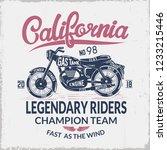 motorcycles club emblem...   Shutterstock .eps vector #1233215446