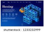 equipment for data center... | Shutterstock .eps vector #1233232999