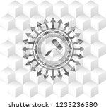 roller brush icon inside grey... | Shutterstock .eps vector #1233236380