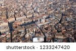 aerial drone view of iconic... | Shutterstock . vector #1233247420