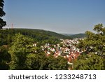 city scape of heidenheim brenz... | Shutterstock . vector #1233248713