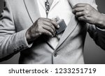 fragrance smell. men perfumes.... | Shutterstock . vector #1233251719