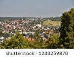 city scape of heidenheim brenz... | Shutterstock . vector #1233259870