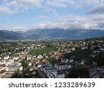 vaduz  liechtenstein on august... | Shutterstock . vector #1233289639