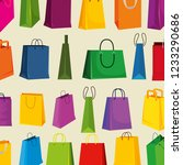 sale bags to super special... | Shutterstock .eps vector #1233290686