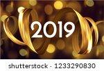 3d golden paint watercolor... | Shutterstock .eps vector #1233290830