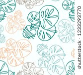 vector seamless pattern with... | Shutterstock .eps vector #1233293770