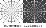 vector illustration of spider... | Shutterstock .eps vector #1233305176