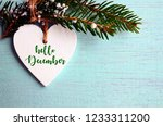 Hello December.decorative Whit...