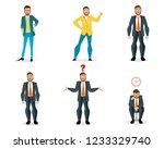 vector illustration of set of...   Shutterstock .eps vector #1233329740