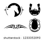 creative logo for farm and...   Shutterstock .eps vector #1233352093