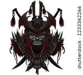 Sticker Dark Mask