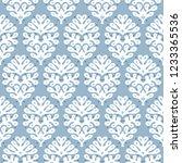 talavera pattern. indian... | Shutterstock .eps vector #1233365536
