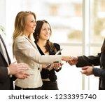 the conference of entrepreneurs.... | Shutterstock . vector #1233395740