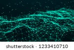 network connection structure.... | Shutterstock . vector #1233410710