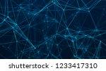 abstract digital background....   Shutterstock . vector #1233417310