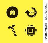 hardware icon. hardware vector... | Shutterstock .eps vector #1233428053