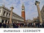 venice  italy   september 30 ... | Shutterstock . vector #1233436579