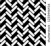 black and white simple wooden... | Shutterstock .eps vector #1233446416