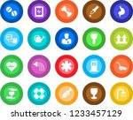 round color solid flat icon set ... | Shutterstock .eps vector #1233457129