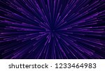 abstract circular speed... | Shutterstock . vector #1233464983