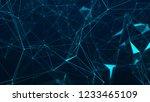 abstract digital background....   Shutterstock . vector #1233465109