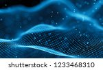 data technology background.... | Shutterstock . vector #1233468310