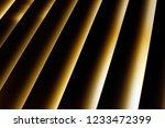 fragment of high tech blinds  ... | Shutterstock . vector #1233472399