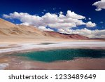 clouds over one of the deep... | Shutterstock . vector #1233489649