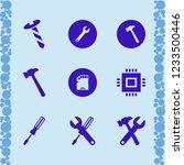 hardware icon. hardware vector... | Shutterstock .eps vector #1233500446