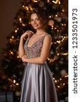 beautiful attractive woman in... | Shutterstock . vector #1233501973