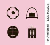 leisure icon. leisure vector... | Shutterstock .eps vector #1233506026