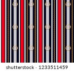 seamless pattern with belts ... | Shutterstock .eps vector #1233511459
