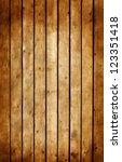 Old Grunge Wooden Background O...