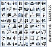 employment human resource and... | Shutterstock .eps vector #123356920