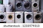 electronics washing machine... | Shutterstock . vector #1233579313