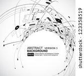 abstract background vector | Shutterstock .eps vector #123358519