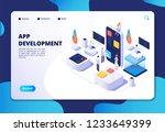app development concept....