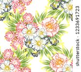 abstract elegance seamless...   Shutterstock . vector #1233691723