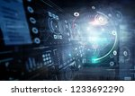 technologies for connection.... | Shutterstock . vector #1233692290