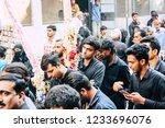 varanasi india november 17 ... | Shutterstock . vector #1233696076